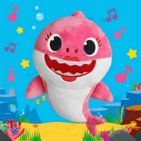 2019 BABY SHARK TOY WITH MUSIC SOUND CUTE ANIMAL PLUSH SINGING ENGLISH DOLL