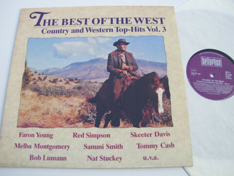 THE BEST OF THE WEST VOL 3 VARIOUS ARTISTS 12 BELLAPHON 230 07 134