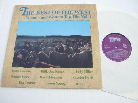 THE BEST OF THE WEST VOL 1 VARIOUS ARTISTS 12 BELLAPHON 230 07 132