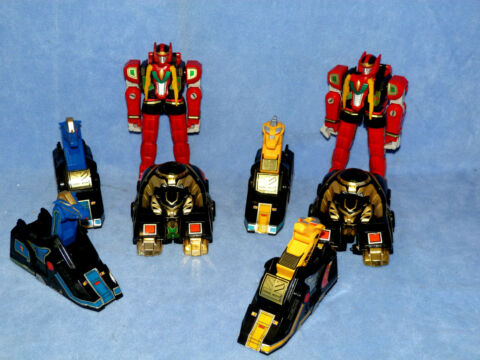POWER RANGERS MIGHTY MORPHIN THUNDER MEGAZORD COLLECTION CHOOSE YOUR ZORD