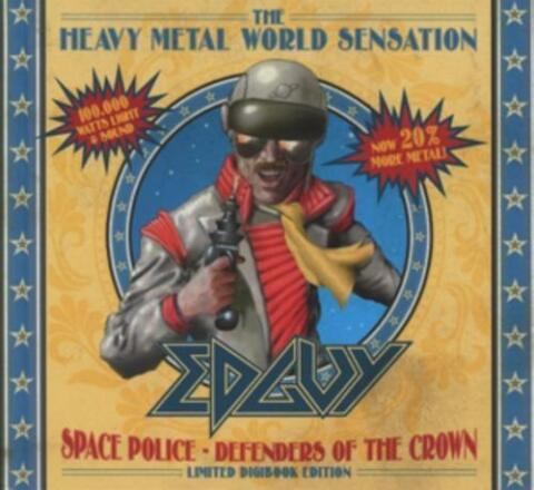 SPACE POLICE DEFENDERS OF THE CROWN VON EDGUY 2014 LTD EDITION 2 CD SET