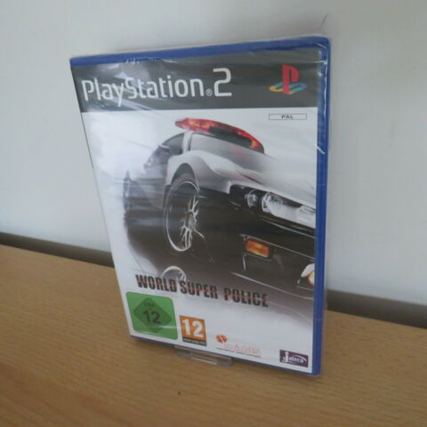 PS2 WORLD SUPER POLICE PAL NEW SONY FACTORY SEALED