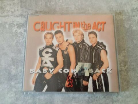 CAUGHT IN THE ACT BABY COME BACK MAXI CD