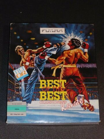 BEST OF THE BEST CHAMPIONSHIP KARATE COMMODORE AMIGA OVP BOXED