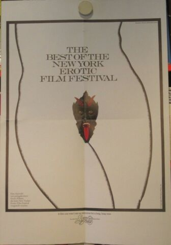 THE BEST OF THE NEW YORK EROTIC FILM FESTIVAL FILMPLAKAT POSTER 1975