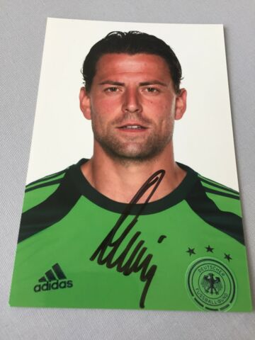 ROMAN WEIDENFELLER WELTMEISTER 2014 DFB IN PERSON SIGNED FOTO 10X15 AUTOGRAMM