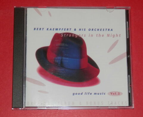 BERT KAEMPFERT STRANGERS IN THE NIGHT 4 BONUSTRACKS CD JAZZ
