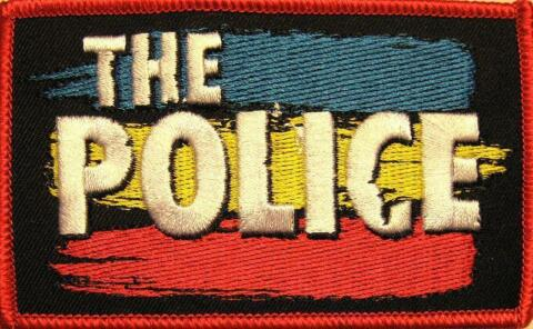 POLICE AUFB GLER EMBROIDERY PATCH 2 AUFN HER 10X6CM