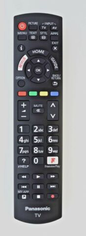 GENUINE ORIGINAL PANASONIC N2QAYB001181 SMART 4K LED TV REMOTE YOUTUBE NETFLIX