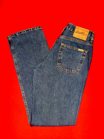 LEVIS SIGNATURE JEANS 501 BLUE DENIM W31 L34 NEU TOP