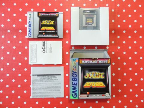 MIDWAY ARCADE HITS JOUST DEFENDER NINTENDO GAMEBOY COLOR OVP ANLEITUNG CIB