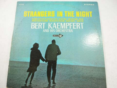 BERT KAEMPFERT AND HIS ORCHESTRA STRANGERS IN DER NACHT DECCA DL 74795
