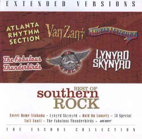 THE BEST OF SOUTHERN ROCK EXT VERSIONS L SKYNYRD VAN ZANT FAB THUNDERBIRDS
