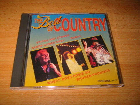 THE BEST OF COUNTRY DONNA FARGO FERLIN HUSKY JOHNNY PAYCHECK PATSY CLINE