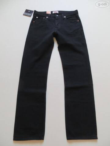 LEVIS 501 STRAIGHT JEANS HOSE W 31 L 34 SCHWARZ NEU BLACK DENIM RAR