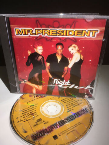 CD ALBUM MR PRESIDENT NIGHT CLUB