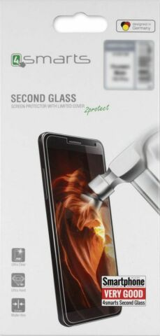 4SMARTS SECOND GLASS LIMITED COVER F HUAWEI P20 DISPLAYSCHUTZGLASFOLIE BRANDNEU