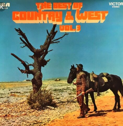 LP THE BEST OF COUNTRY WEST VOL 3 ARE YOU FROM DIXIE