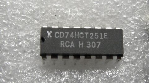 CD74HCT251 8 LINE TO 1 LINE MULTIPLEXER DIP20