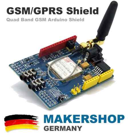 SIM900 QUAD BAND GSM GPRS ARDUINO UNO SHIELD SMS DATA MODUL ICOMSAT KIT
