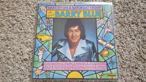 BARRY BLUE DANCIN ON A SATURDAY NIGHT THE BEST OF VINYL LP