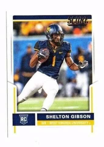 SHELTON GIBSON ROOKIE 2017 PANINI SCORE 342 FOOTBALL CARD