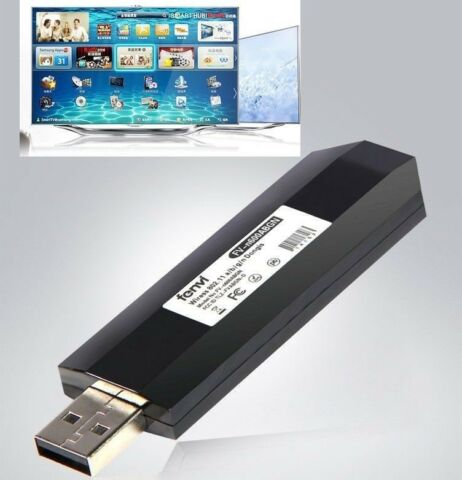 USB TV WIRELESS WI FI ADAPTER FOR SAMSUNG SMART TV INSTEAD WIS12ABGNX WIS09ABGN