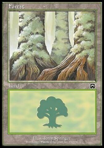 4X WALD 350 FOREST 350 MTG MAGIC MM MERCADIAN MASQUES ENG ITA