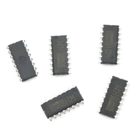 5PCS CH340G IC BOARD SOP 16 USB CABLE SERIAL CHIP QP