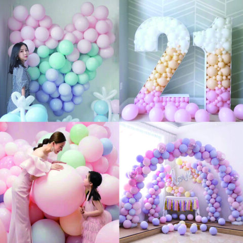 30X LATEX BALLOONS WEDDING BIRTHDAY PARTY AIR HELIUM LATEX BALLOON BABY SHOWER T