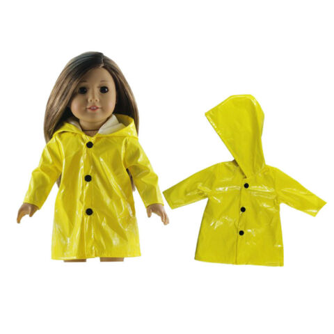 PUPPENKLEIDUNG CUTE RAINCOAT FIT AMERICAN DOLLS M DCHEN UND 43CM BABY DOLL