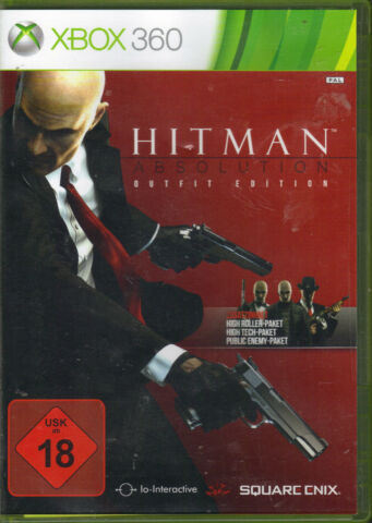 HITMAN ABSOLUTION OUTFIT EDITION XBOX 360