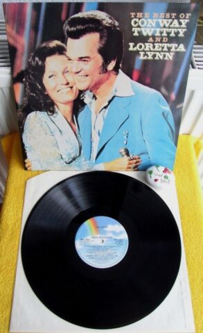 THE BEST OF CONWAY TWITTY LORETTA LYNN MCA RECORDS MCL 1823