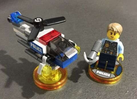 LEGO DIMENSIONS FUN PACK LEGO CITY CHASE MCCAIN LEGO POLICE