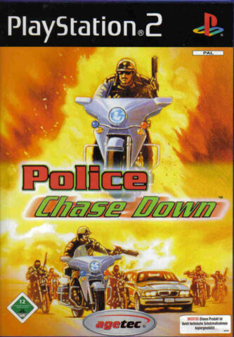 POLICE CHASE DOWN MINT SONY PLAYSTATION 2 PS2