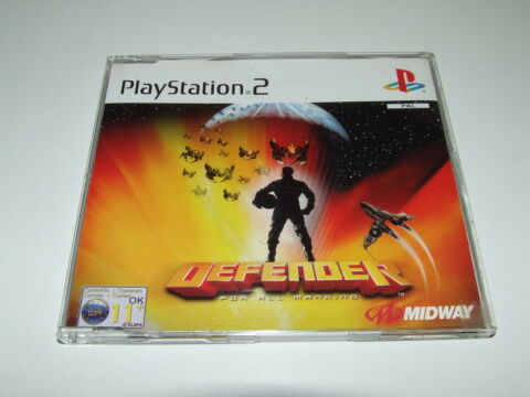 DEFENDER PROMO BY MIDWAY FOR PLAYSTATION PS2 PAL VERY GOOD CONDITION