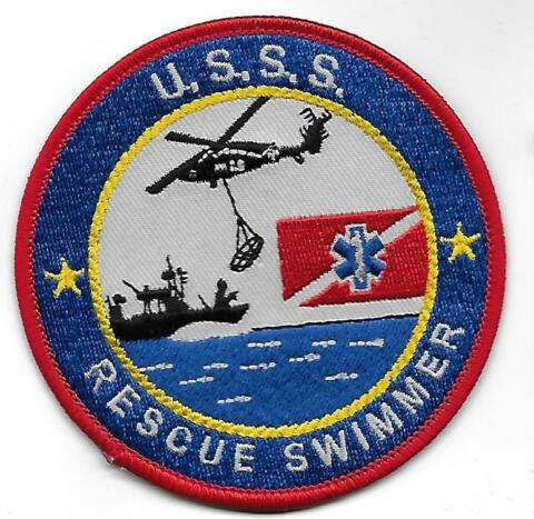 USA SECRET SERVICE USSS TAUCHER AUFN HER PATCH DIVERS POLICE US