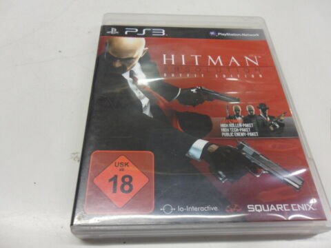 PLAYSTATION 3 PS3 HITMAN ABSOLUTION OUTFIT EDITION USK 18