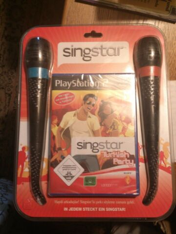 SONY PLAYSTATION 2 SINGSTAR T RK TURKISH PARTY PS2 NEU UND ORIGINAL VERPACKT