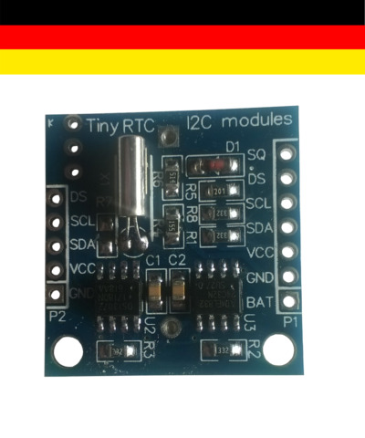 RTC DS1307 AT24C32 REAL TIME CLOCK MODUL F R ARDUINO