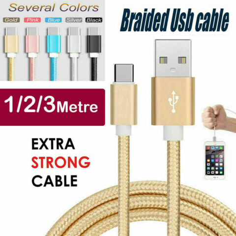 USB DATA MOBILE CHARGER CABLE LEAD FOR NEW SONY XPERIA HUAWEI TYPE C ANDROID
