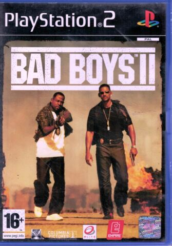 BAD BOYS II PS2 VERY GOOD CONDITION VIDEO GAME