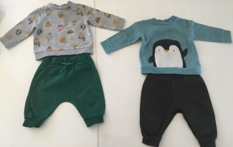 C A BABY CLUB SET 4ER SET OUTFIT OUTFITS PULLOVER SPORTANZUG JOGGINGANZUG 68