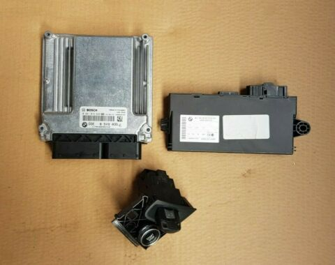 BMW X5 E70 3 0D ENGINE ECU KIT 306D3 DDE