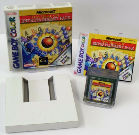 NINTENDO GAME BOY COLOR GBC MICROSOFT THE BEST OF ENTERTAINMENT PACK OVP