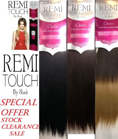 REMI TOUCH BY SLEEK CHOICE STRAIGHT 100 HUMAN HAIR SPECIAL OFFER