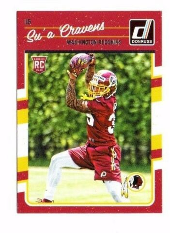 SU A CRAVENS ROOKIE 2016 PANINI DONRUSS 342 FOOTBALL CARD