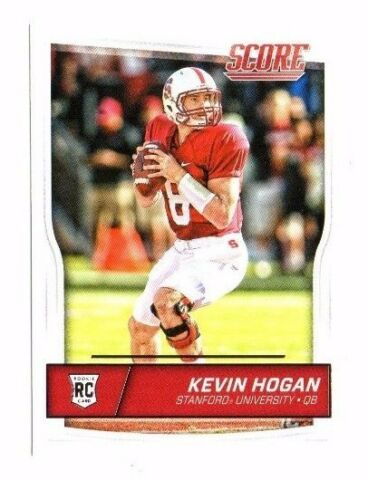 KEVIN HOGAN ROOKIE 2016 PANINI SCORE 342 FOOTBALL CARD