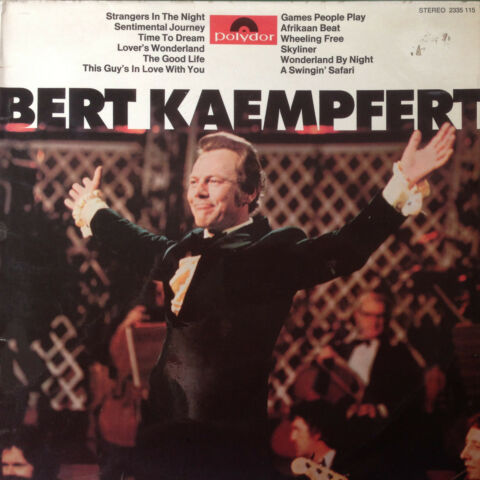 BERT KAEMPFERT STRANGERS IN THE NIGHT POLYDOR 2335115 VINYL LP F12