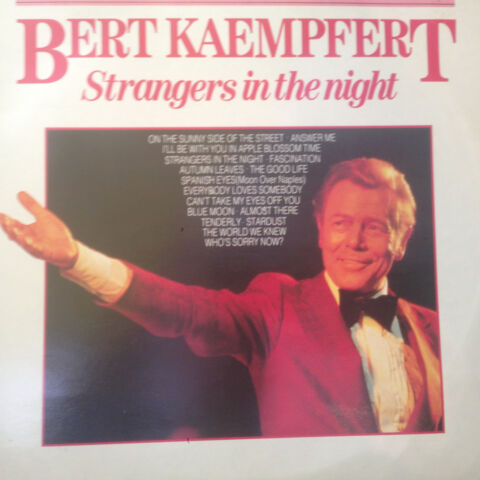 BERT KAEMPFERT STRANGERS IN THE NIGHT 1987 LP VINYL